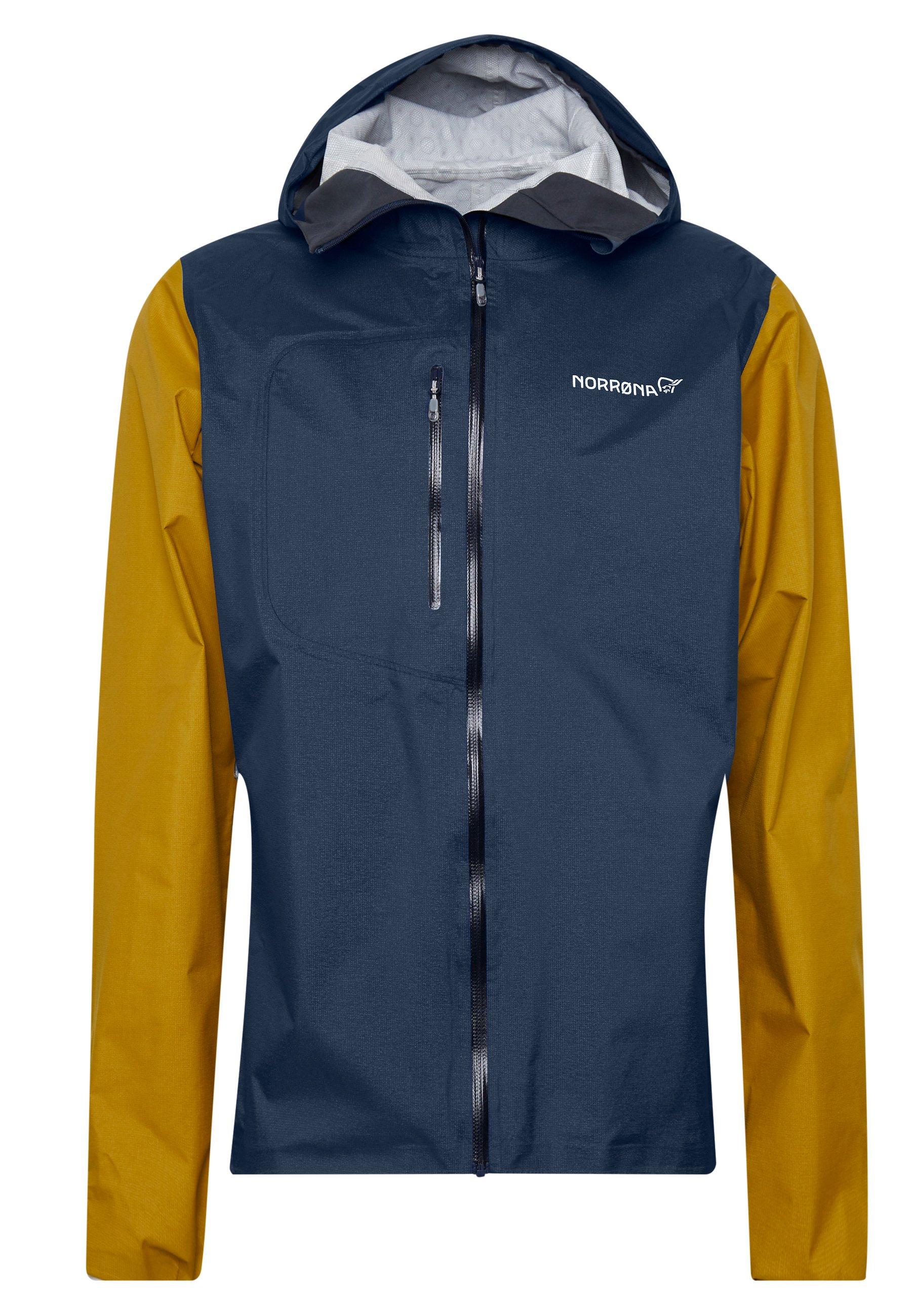 Norrøna BITIHORN JACKET Hardshell jacket golden palmblå