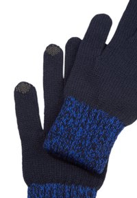 s.Oliver - TOUCHSCREEN - Gloves - dark blue - 1