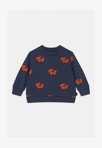 TINYCOTTONS - FOXES - Sweatshirt - light navy/sienna - 0