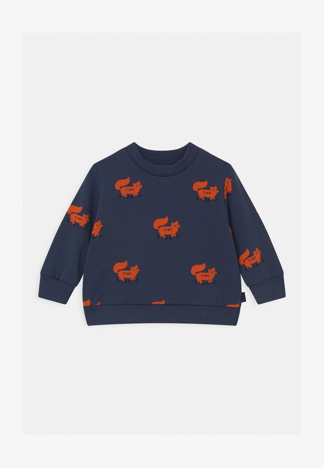FOXES - Sweatshirt - light navy/sienna