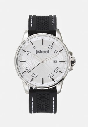 YOUNG - Watch - black/silver-coloured