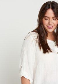 Zizzi - VVIVU - Korte jurk - bright white - 2