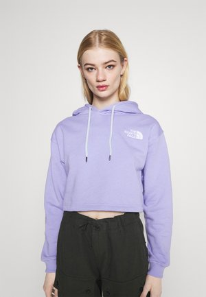TREND CROP DROP HOODIE - Sweater - sweet lavender