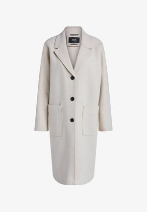 WOLLMANTEL - Classic coat - ecru melange