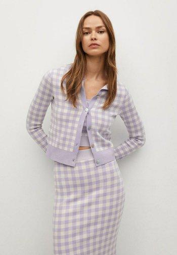 COLORINA - Cardigan - violet clair/pastel