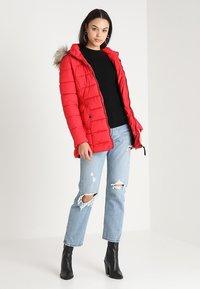 ONLY - ONLNORTH COAT  - Winter coat - goji berry - 2