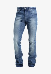 Tommy Jeans - SCANTON BEMB - Jeans slim fit - berry mid blue comfort - 6