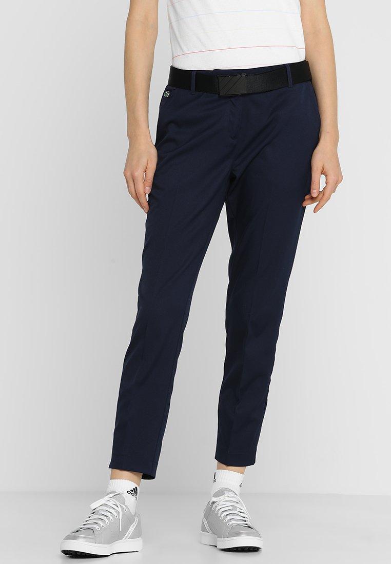 Lacoste Sport - Kalhoty - navy blue
