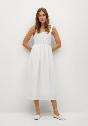 PERLA-H - Day dress - hvit