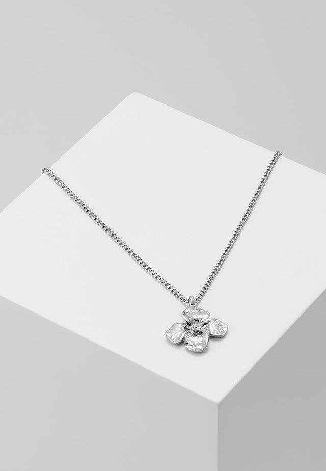 NECKLACE JUSTINE - Collana - silver-coloured
