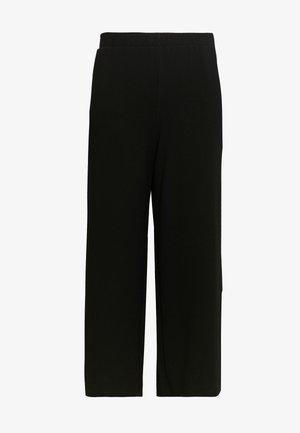 BELL TROUSERS - Pantaloni - black