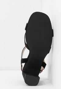 Dorothy Perkins - SELENA BLOCK  - Højhælede sandaletter / Højhælede sandaler - black - 4