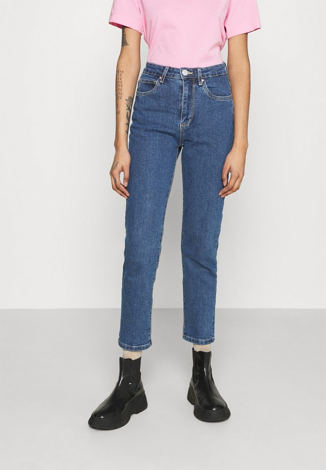 STRETCH MOM - Jeans Relaxed Fit - coogee blue