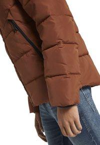 TOM TAILOR DENIM - Winter jacket - goji orange - 4