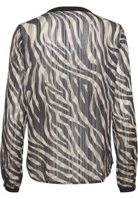 Kaffe - KAVENDA  - Button-down blouse - black zebra print - 5