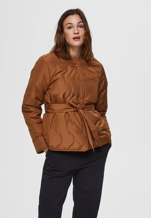 STEPP - Winter jacket - toffee