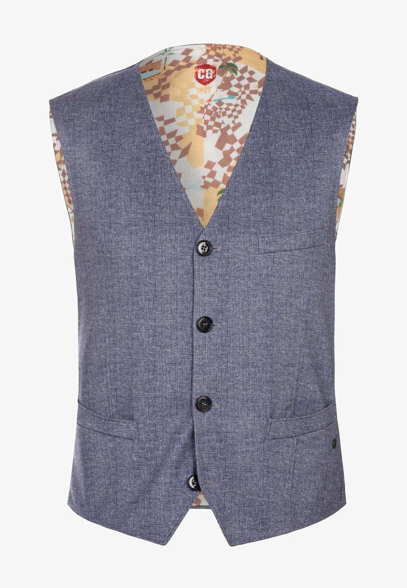 CG – Club of Gents - Suit waistcoat - blau