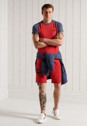 BASEBALL - T-shirt imprimé - risk red marl