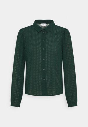 JDYDIANE PUFF SHIRT - Button-down blouse - scarab