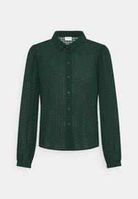 JDY - JDYDIANE PUFF SHIRT - Button-down blouse - scarab - 4