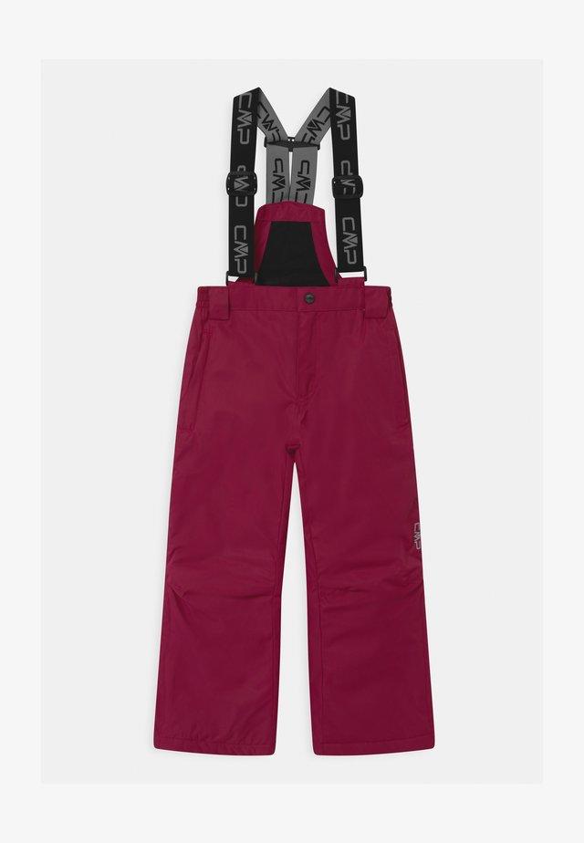 SALOPETTE UNISEX - Zimní kalhoty - magenta