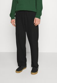 Weekday - COLE TROUSERS - Trousers - black - 0