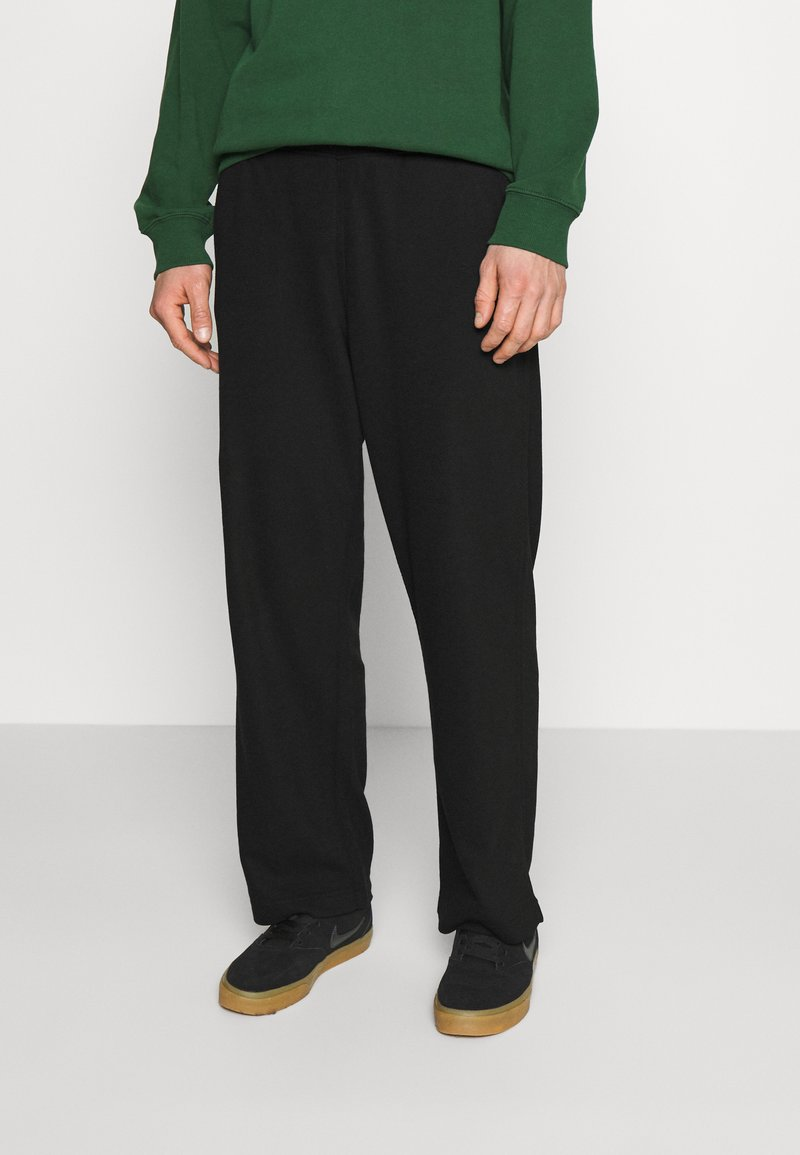 Weekday - COLE TROUSERS - Trousers - black