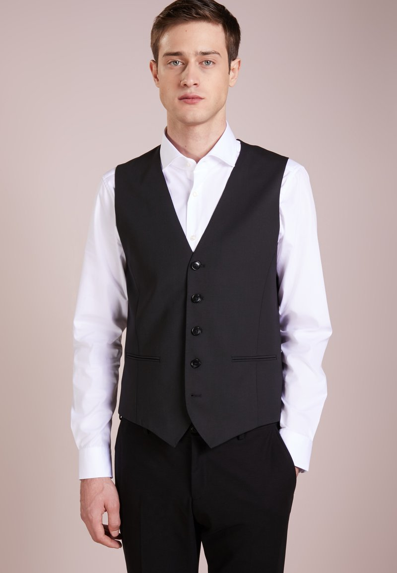 DRYKORN - MALM - Gilet elegante - black