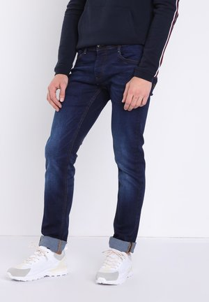 USED-EFFEKT - Slim fit jeans - blue