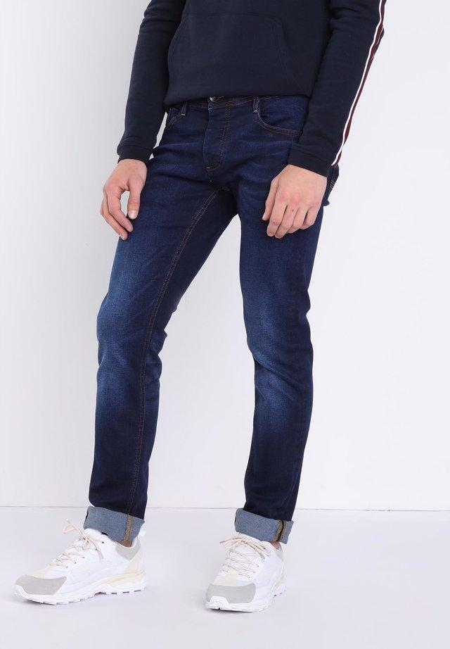 USED-EFFEKT - Jeans slim fit - blue