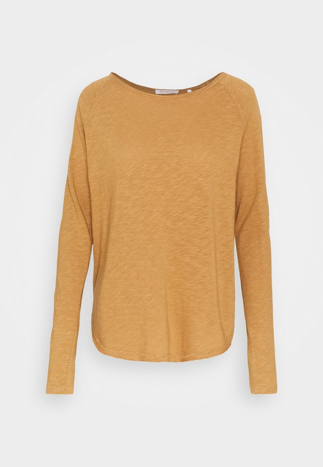 HEAVY LONGSLEEVE - Long sleeved top - toffee
