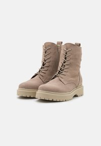 Zign - Lace-up ankle boots - beige - 2