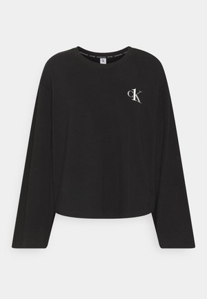 CREW NECK - Pigiama - black