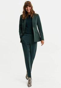 WE Fashion - Blazer - dark green - 1
