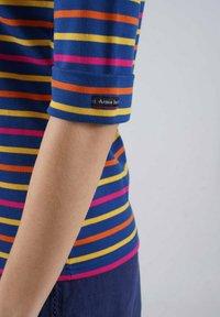 Armor lux - Long sleeved top - dunkermarine/dorure/calendula/azaléa - 2