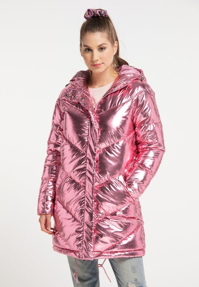 Abrigo de invierno - rosa