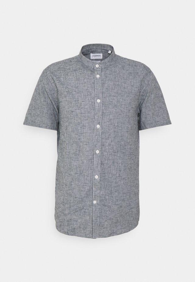 BLEND MANDARIN SHIRT - Camicia - dark blue