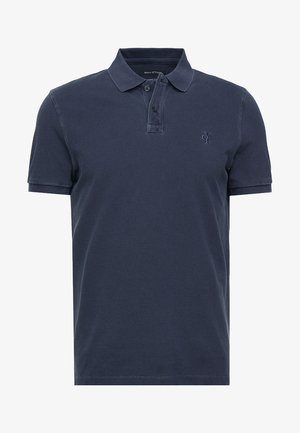SHORT SLEEVE BUTTON PLACKET - Polo shirt - total eclipse