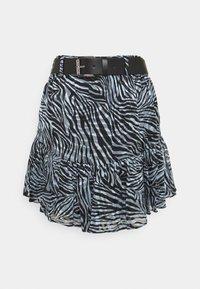 MICHAEL Michael Kors - ZEBRA MINI SKIRT - Mini skirt - light blue - 3