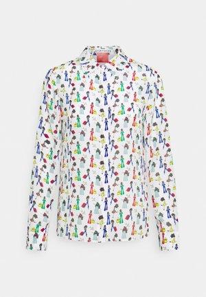 WILLA PLACKET  - Skjortebluser - blue