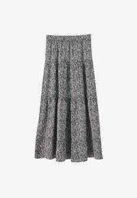 PULL&BEAR - Maxi skirt - black - 6