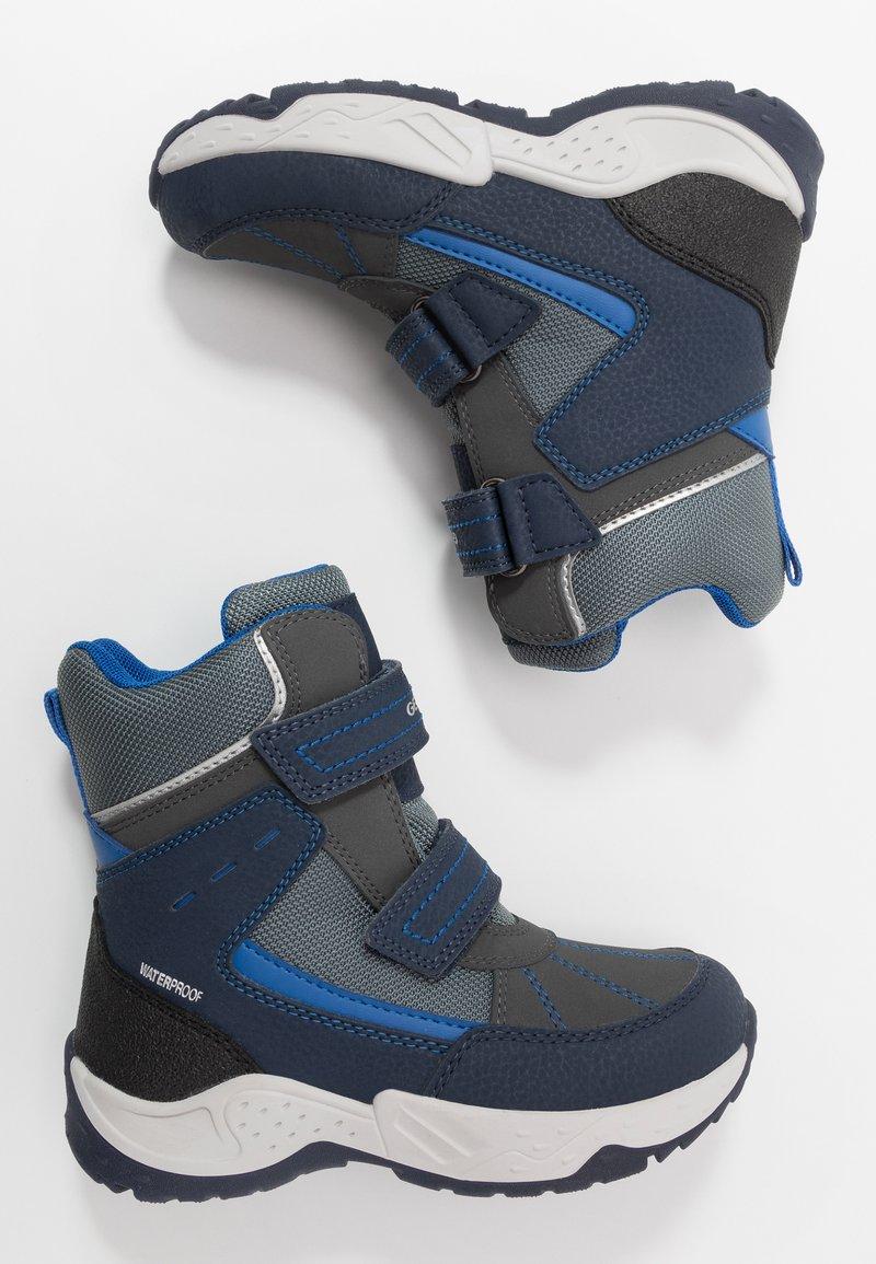Geox - SENTIERO BOY WPF - Winter boots - navy/royal