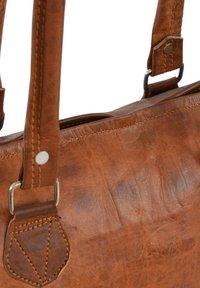 Gusti Leder - Käsilaukku - brown - 6