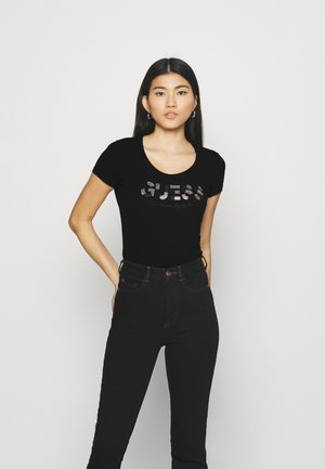 MARTINA TEE - T-shirt print - jet black