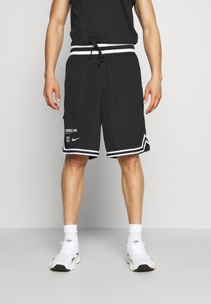 NBA BROOKLYN NETS - Sports shorts - black/white
