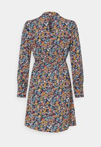 Vila - VISIMBA TIE BELT DRESS - Day dress - navy blazer - 1