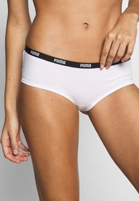 Puma - HIPSTER 3 PACK - Briefs - white - 5