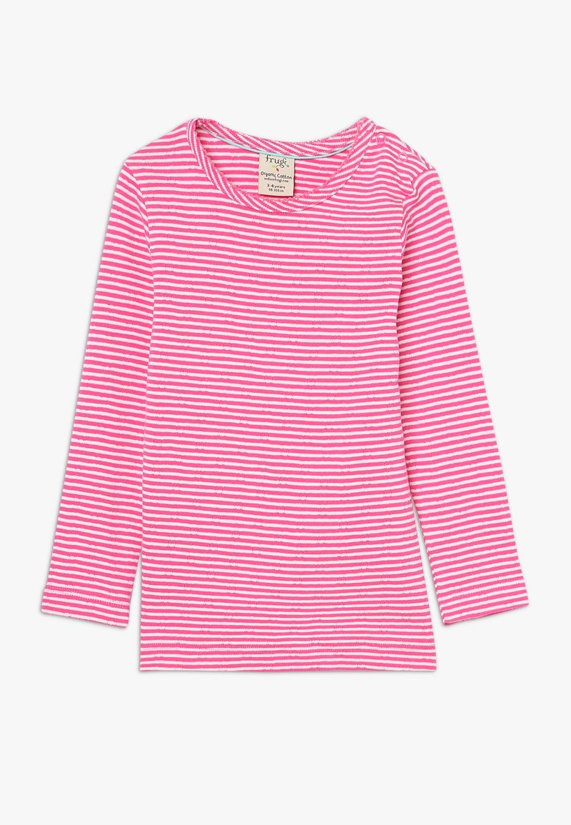 Frugi - MIA POINTELLE - Long sleeved top - flamingo