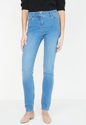 Slimfit džínsy - blue