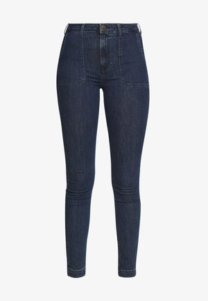SCARLETT HIGH - Jeans Skinny Fit - mid jelt